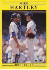 Buy 1991 Fleer #205 Mike Hartley
