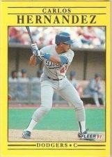 Buy 1991 Fleer #207 Carlos Hernandez
