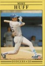 Buy 1991 Fleer #210 Mike Huff