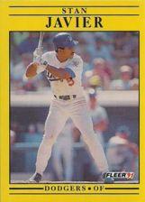 Buy 1991 Fleer #211 Stan Javier