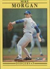 Buy 1991 Fleer #213 Mike Morgan