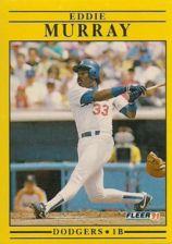 Buy 1991 Fleer #214 Eddie Murray