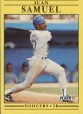 Buy 1991 Fleer #218 Juan Samuel