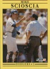 Buy 1991 Fleer #219 Mike Scioscia