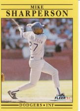 Buy 1991 Fleer #221 Mike Sharperson