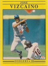 Buy 1991 Fleer #223 Jose Vizcaino