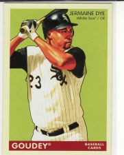 Buy 2009 Upper Deck Goudey #49 - Jermaine Dye - White Sox
