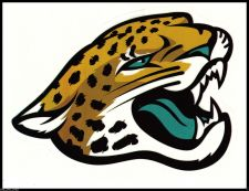 Buy Jacksonville Jaguars NFL TEAM LOGO LICENSED FOOTBALL GLOSSY DECAL STICKER