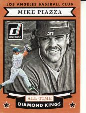 Buy 2015 Donruss All-Time Diamond Kings #22 - Mike Piazza - Dodgers