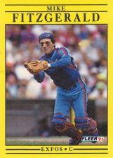 Buy 1991 Fleer #229 Mike Fitzgerald