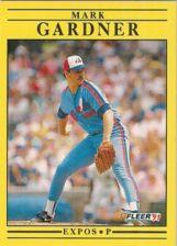 Buy 1991 Fleer #233 Mark Gardner