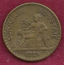 Buy France 2 Francs 1925 Coin French Chamber of Commerce Mercury Seated