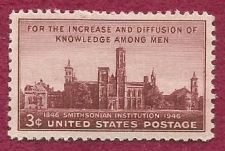 Buy US 3 Cent 1946 Stamp Smithsonian Institution Centennial MNH Scott #943