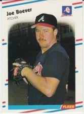 Buy 1988 Fleer #534 - Joe Boever - Braves