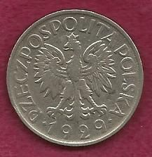 Buy Poland 1 Zloty 1929 Coin - Over 85 ;years old!