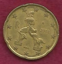 Buy ITALY 20 Euro Cent 2002 R COIN