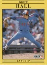 Buy 1991 Fleer #236 Drew Hall