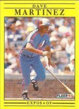 Buy 1991 Fleer #237 Dave Martinez