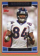 Buy 2006 Topps Gold #260 - Javon Walker - Broncos