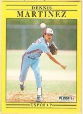 Buy 1991 Fleer #238 Dennis Martinez