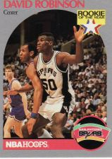 Buy 1990-91 Hoops #270 - David Robinson - Spurs