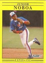 Buy 1991 Fleer #242 Junior Noboa