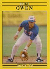 Buy 1991 Fleer #243 Spike Owen