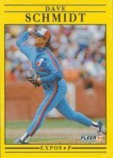 Buy 1991 Fleer #249 Dave Schmidt