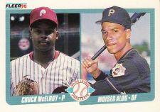 Buy 1990 Fleer #650 - Chuck McElroy - Moises Alou - Phillies - Pirates