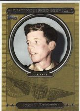 Buy 2007 Topps Distinguished Service - John F. Kennedy - Navy