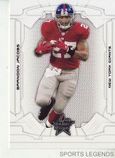 Buy 2008 Leaf Rookies & Stars #65 Brandon Jacobs