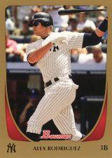 Buy 2011 Bowman Gold #170 - Alex Rodriguez - Yankees