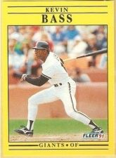 Buy 1991 Fleer #253 Kevin Bass
