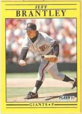 Buy 1991 Fleer #255 Jeff Brantley