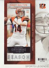 Buy 2013 Contenders #8 Andy Dalton