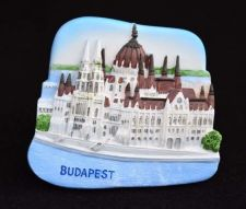 Buy 3D SCULPTURE FRIDGE MAGNET MEMORIAL PLACE HOUSE OF PARLIAMENT BUDAPEST HUNGARY
