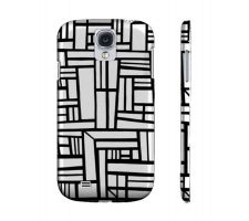 Buy Ghibaudy Black White Samsung Galaxy S4 Phone Case