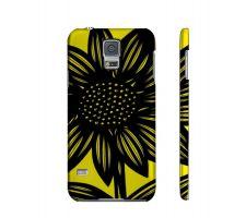 Buy Barrette Yellow Black Samsung Galaxy S5 Phone Case Flowers Botanical