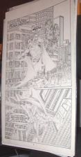 Buy Nicely Penciled SUPERMAN Page of Comic art by a Pro