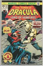 Buy The TOMB of DRACULA Lord of Vampires #39 MARVEL COMICS 1975 GENE COLAN T. Palmer