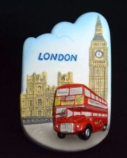 Buy 3D SCULPTURE FRIDGE MAGNET MEMORIAL PLACE BIG BEN TOWER LONDON SOUVENIR GIFT