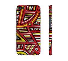 Buy Silbaugh Yellow Red Black Iphone 5/5S Phone Case