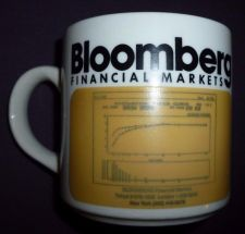 Buy Bloomberg Financial Markets Coffee Mug With Hidden Graph Coffee Cup Bloomberg