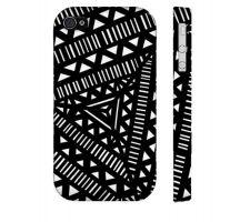 Buy Vath Black White Iphone 4/4S Phone Case