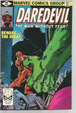 Buy DAREDEVIL #163 Marvel Comics 1st Print w/ HULK 1980 VF/NM --FRANK MILLER art