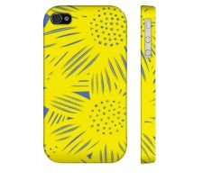 Buy Mccandless Yellow Blue Iphone 4/4S Apple Phone Case Flowers Botanical