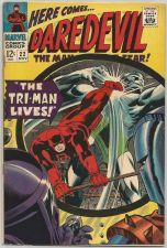 Buy Dardevil #22 Gene Colan, Stan Lee, Ayres 1966 Marvel Comics 1st print and series