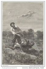 Buy SOUTH AFRICA - ATTEMPT OF ASSASSINATION - engraving from 1881