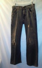 Buy EUC men's sz. 30/30 ARIZIONA Sneaker Fit blue distressed denim jeans