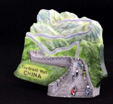 Buy 3D SCULPTURE FRIDGE MAGNET MEMORIAL PLACE THE GREAT WALL OF CHINA SOUVENIR GIFT